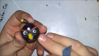 Лепим Angry Birds из пластики, пластилина. How to make a Angry Birds of clay