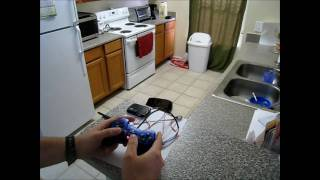 playstation 2 controller arduino library demonstration