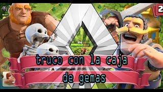 caja de gemas truco /clash of clans/ gemas gratis