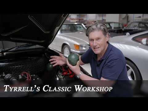 Citroën CX 25 GTi Turbo - A Rare Beast With Party Tricks | Tyrrell's Classic Workshop