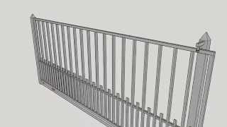 Portón De Corredera ; Sliding Gate