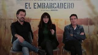 Entrevista a Jesús G. Colmenar, Esther Martínez Lobato y Álex Pina ('El embarcadero')