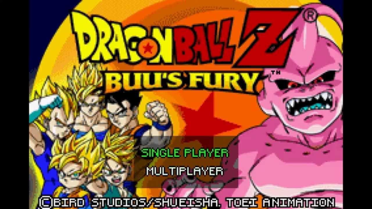 dragonball z buu fury