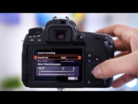 Canon 77D Tutorial - Best Settings For High Quality DSLR Video!