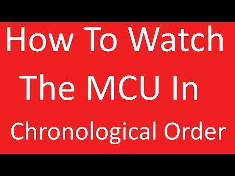 How To Watch The MCU In Chronological Order (Including TV Shows And One Shots) June 2019