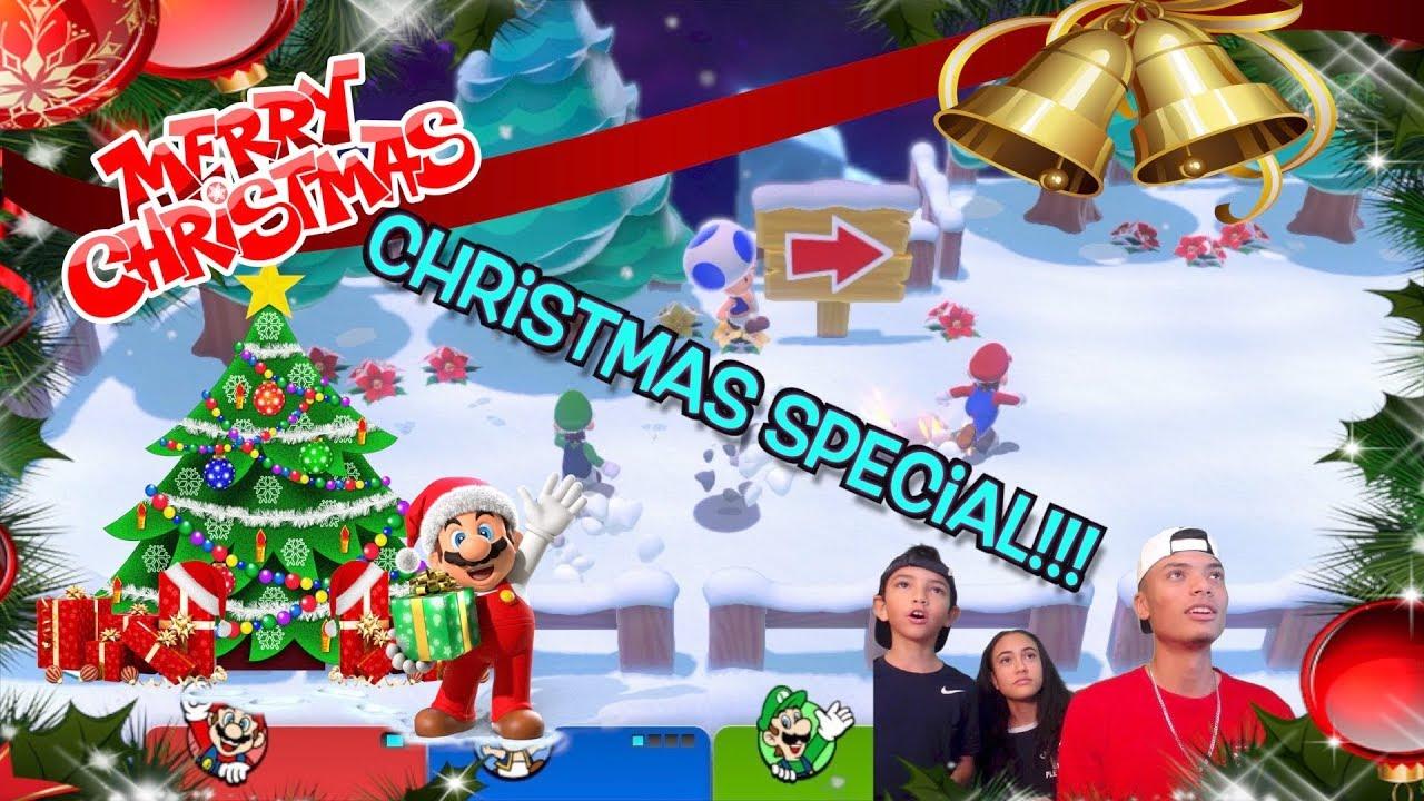 NINTENDO CHRISTMAS!!! [Mario kart 8 deluxe, Mario 3d world, and more ...