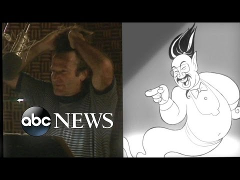 Never-Before-Seen Outtakes of Robin Williams in 'Aladdin'  | ABC News