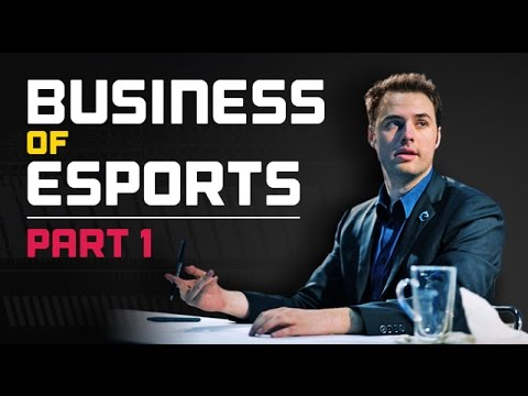 Business of eSports Panel w/ Day9 - Part 1 of 5