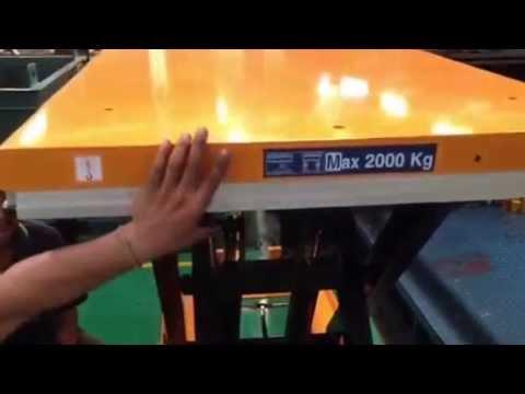 safety โต๊ะยกสูง Liftkaz by QTE Group