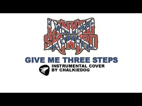 GIVE ME THREE STEPS - intro solo cover plus tab.
