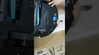 로봇청소기 언박싱 이젠 스마트하게 집청소 해봅시당 클리…