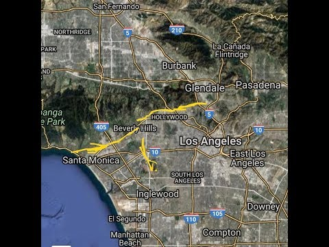Cali: New Santa Monica Fault, Power & GPS Outages, Earthquake (The Wave)