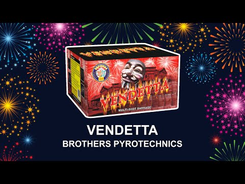 Vendetta - Brothers Pyrotechnics (Fireworks, Cambridge)