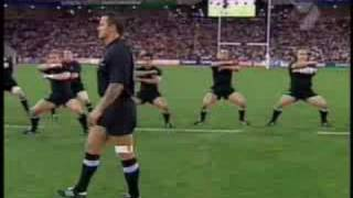NZ All Blacks Maori 'Haka' War Dance thumbnail