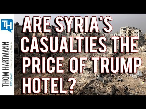 Did Trump Pull Troops Out of Syria to Save Hotel? (2019)