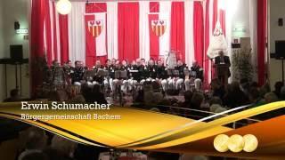 Dankesworte von Erwin Schumacher