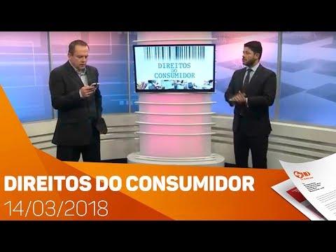 Direitos do Consumidor 14/03/2018 - TV SOROCABA/SBT