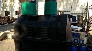 видео Септик термит - обзор и монтаж накопителя