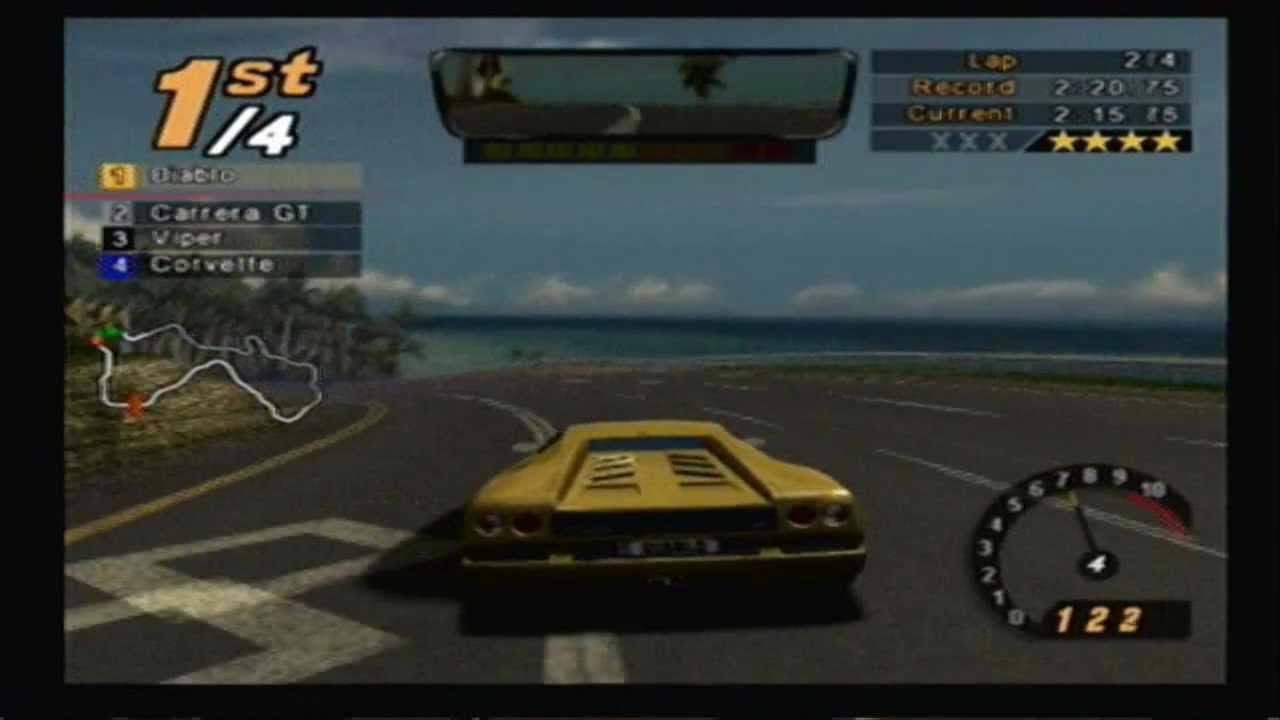 Need For Speed Hot Pursuit 2 Track Island Outskirts