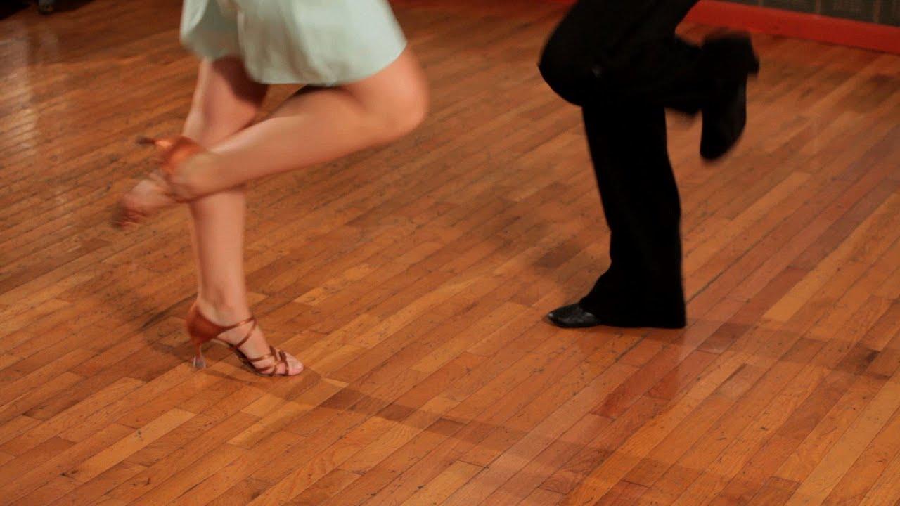 How To Do Basic Jive Steps Ballroom Dance Youtube Step Diagrams