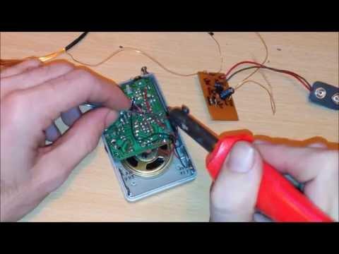 TUTORIAL: Detector de metales con Radio AM