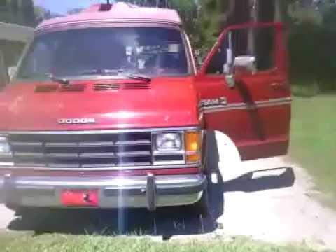 1989 dodge ram b250 van  YouTube