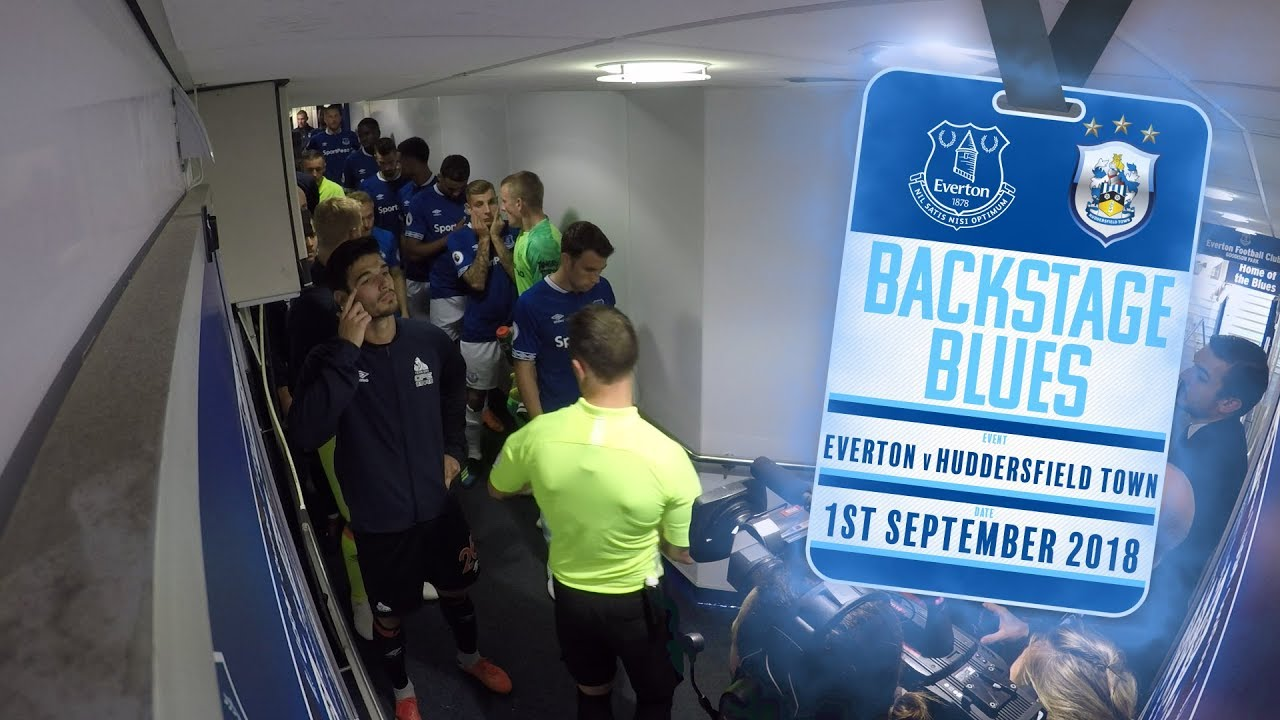 Download BACKSTAGE BLUES: EVERTON V HUDDERSFIELD TOWN | TUNNEL CAM + ACCESS ALL AREAS