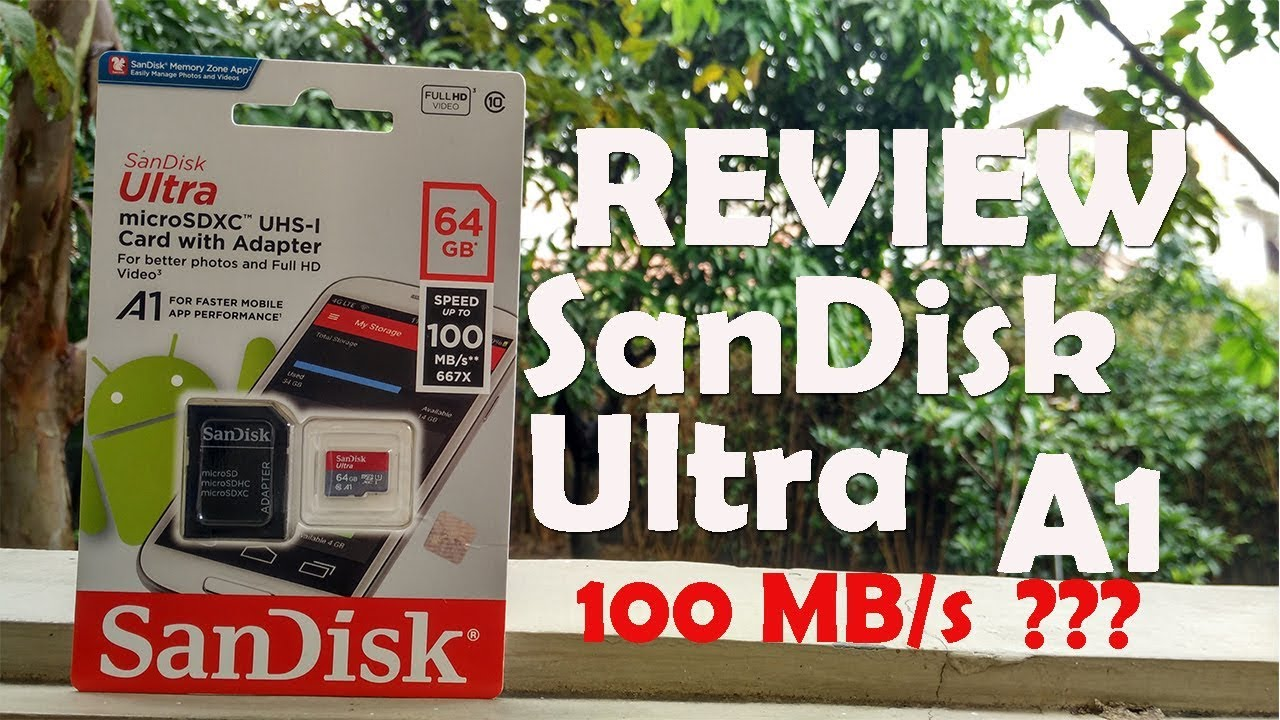 Review Micro Sd 64gb Sandisk Ultra A1 Uhs I 100mb S Bahasa Mikro Indonesia