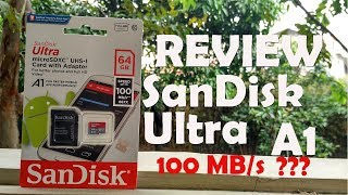 [Review] Micro SD 64GB SanDisk Ultra A1 UHS-I 100mb/s   bahasa Indonesia