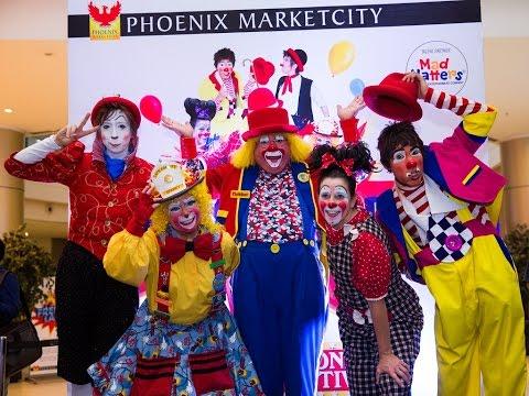 International Clown Festival 2016 | Phoenix Marketcity Chennai