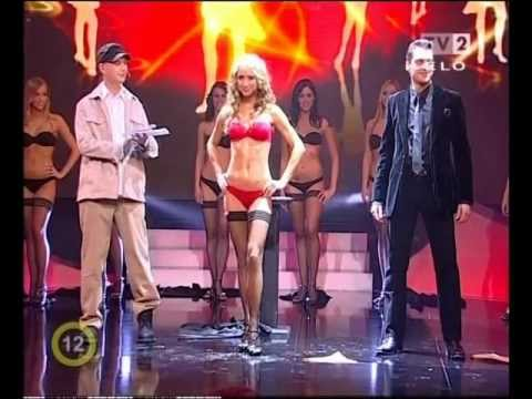 Striptease magic in a live TV show - Máté Rakonczai