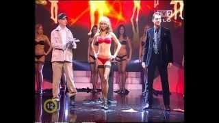Striptease magic in a live TV show - Máté Rakonczai