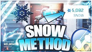 #1 SNOW CURRENCY METHOD! EASIEST WAY TO MAKE SNOW FOR FREE! Zero Chill Madden 19 Ultimate Team