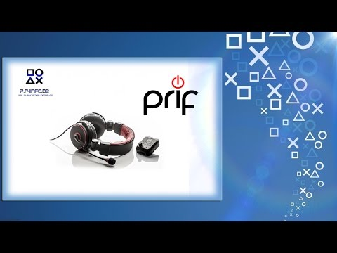 Headset PRIF Playsonic 4 Amplified Stereo with Sound Mixing #Unboxing