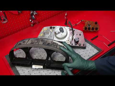 1973 to 1985 Mercedes Instrument Cluster Warning and Inspection Tips