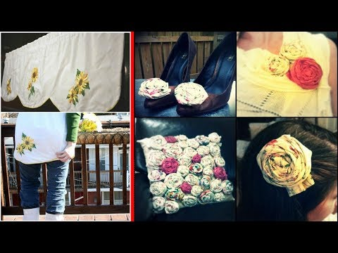 Recycle Old Curtains | DIY Home Decor Curtains Ideas