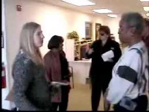 Vivian Stiver 4 Mayor Visiting after JPJones Commu...