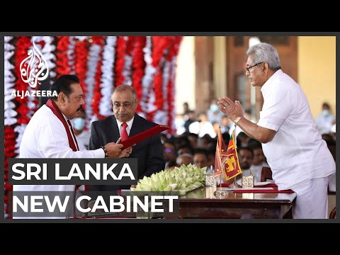 Al Jazeera English: Sri Lanka's new cabinet sworn in