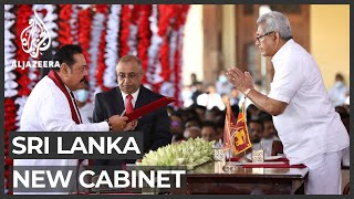 Sri Lanka's new cabinet sworn in
