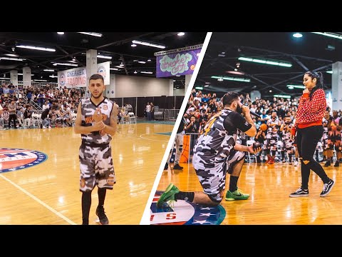 CRAZY OVERTIME GAME! (Qias Omar proposes on court!!)