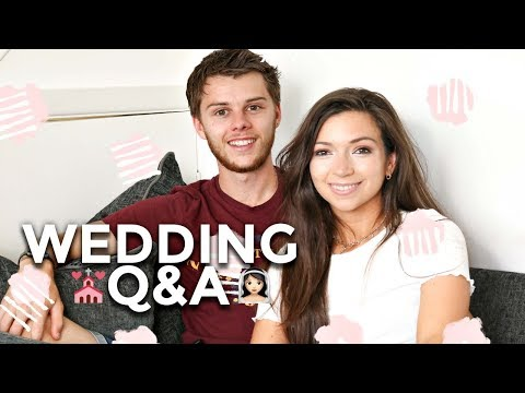 WEDDING Q&A I PLANNING ADVICE & OUR DAY I Dizzybrunette3
