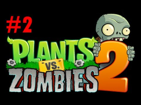 Plants vs Zombies 2: Капустопульта и Ключ #2