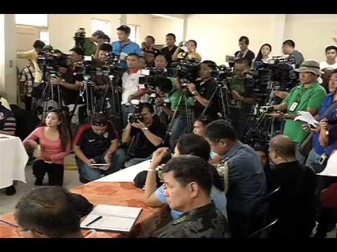PDRRMC Briefing, Bohol 10/16/2013