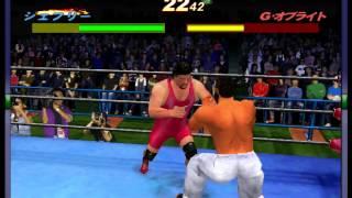 """Virtua Fighter's """"Jeffry"""" In Giant Gram: All Japan Pro Wrestling 2 - Vizzed.com"""