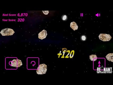 Spacecraft Arena Asteroids Gameplay (Google Play Store)