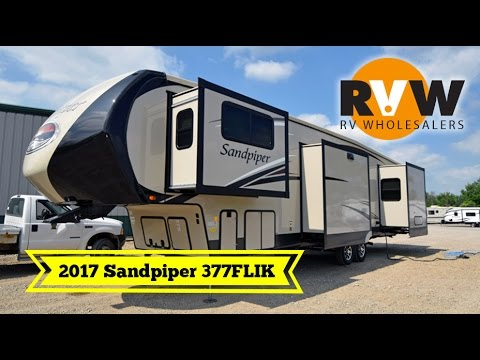 Original 2017 Sandpiper 377FLIK By Forest River Walkthrough At RV