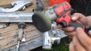 Milwaukee m12 bps sander polisher aluminium rb26 polish