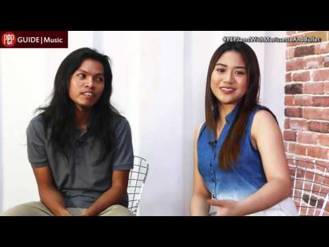 PEP JAMS. Morissette Amon and Bullet Dumas for Confessions