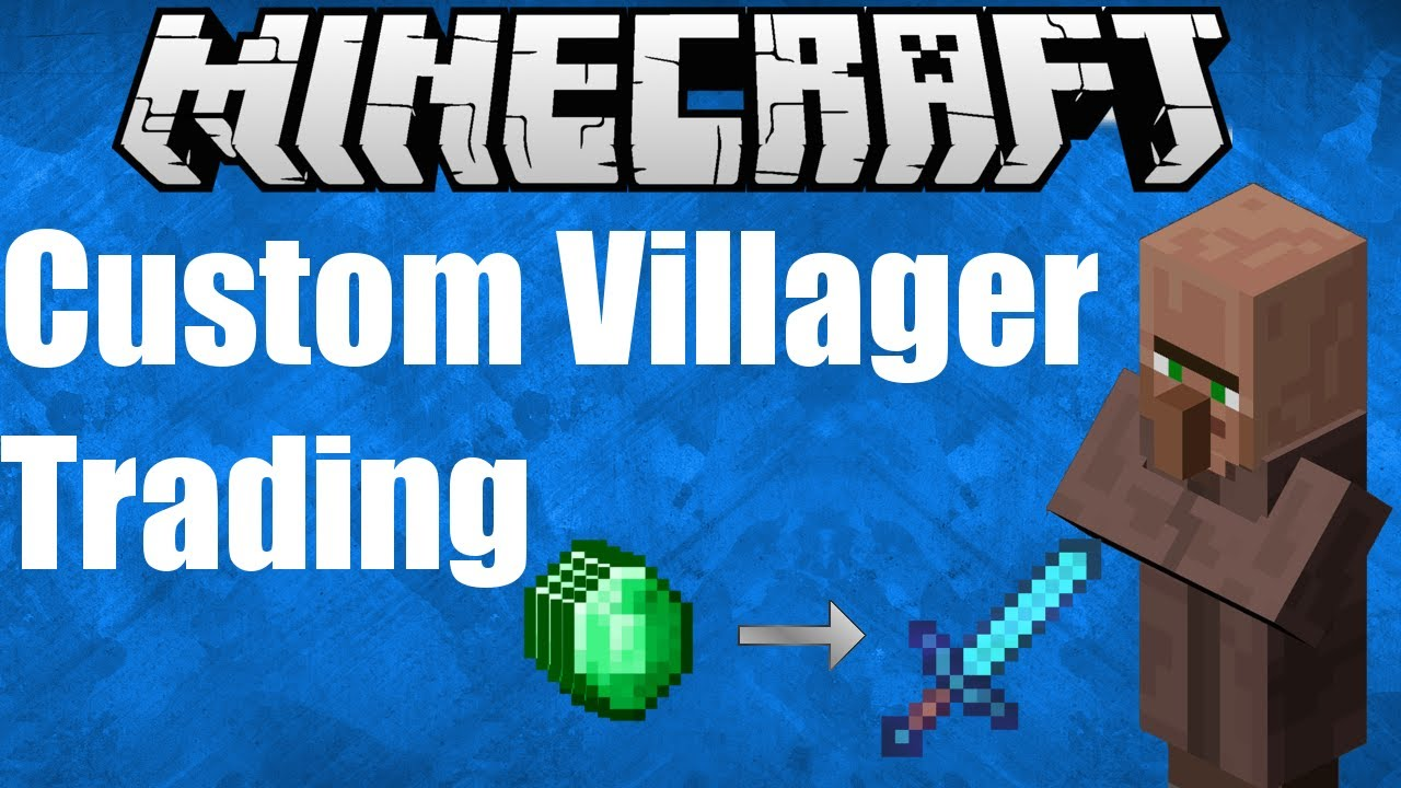 Customizing Villager Trades With Summon Minecraft