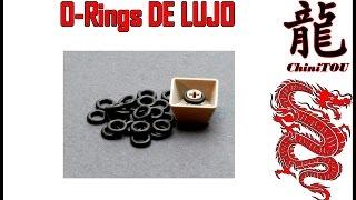 Aliexpress unboxing | O-Rings para teclados mecanicos con cualquier switch
